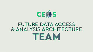 CEOS Future Data Access and Analysis Architecture Team
