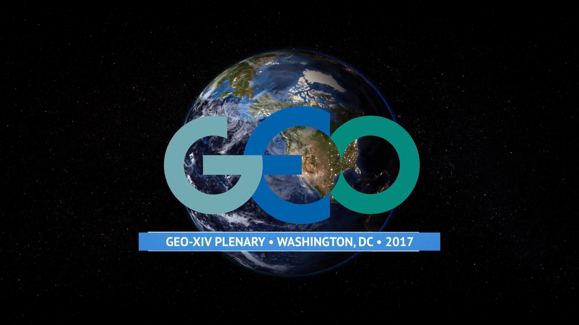 GEO. GEO-XIV Plenary in Washington, DC 2017